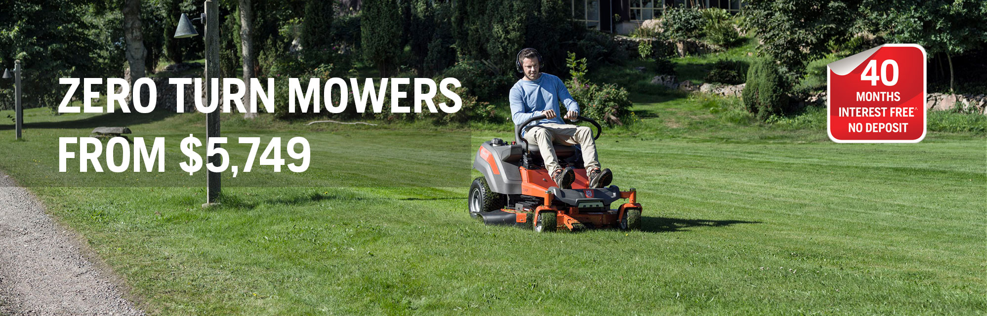 Spring Zero Turn Mowers